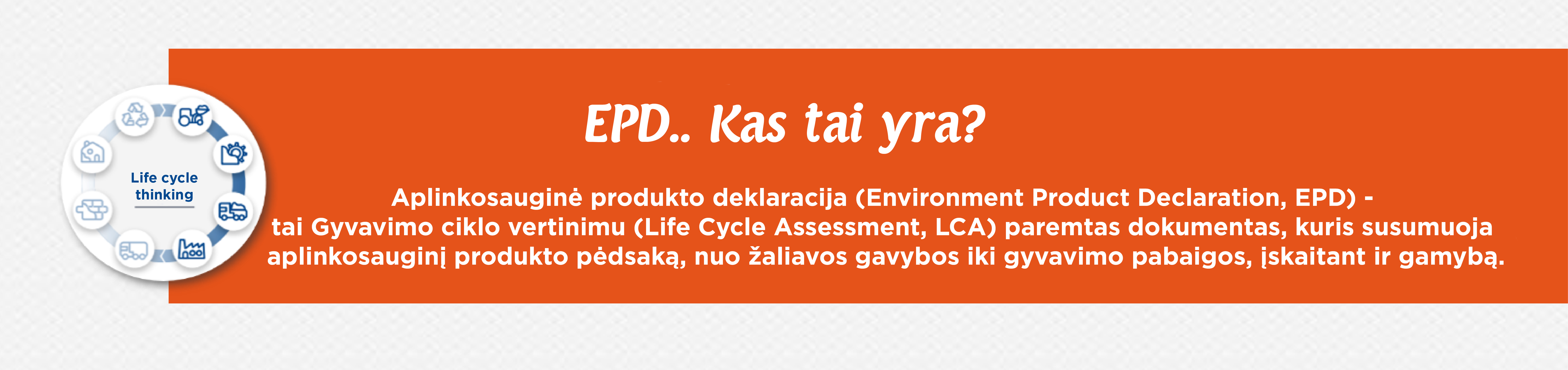 Kas yra EPD